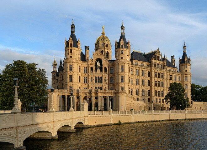 Шверинский замок. Германия