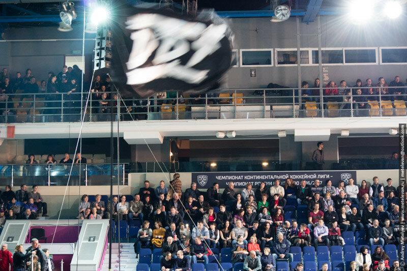 Флаг ДДТ на концерте