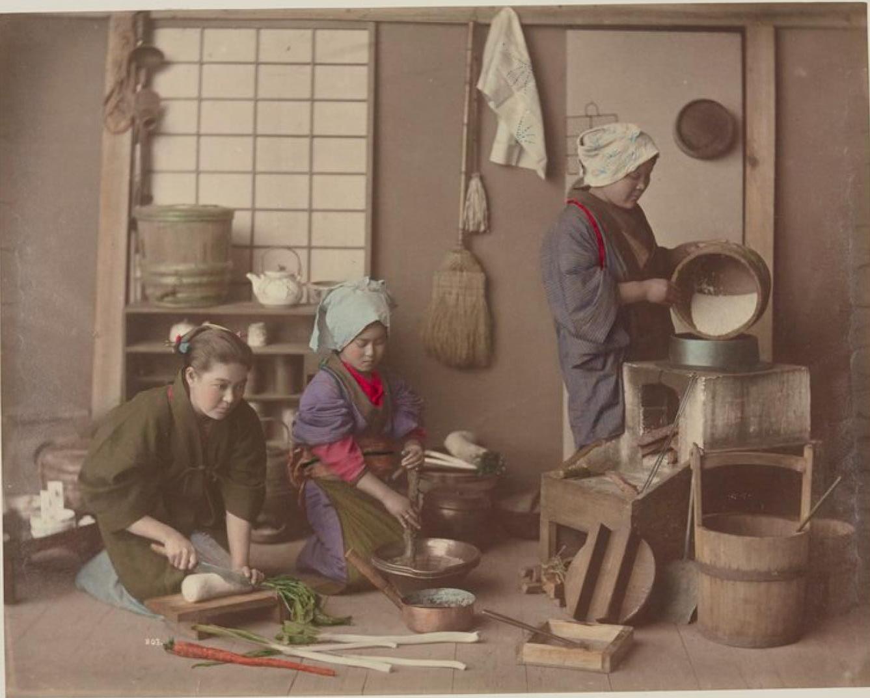 Приготовление пищи на кухне