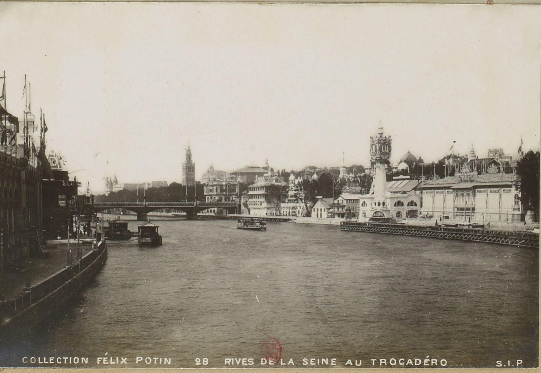 Вид на Сену и Трокадеро