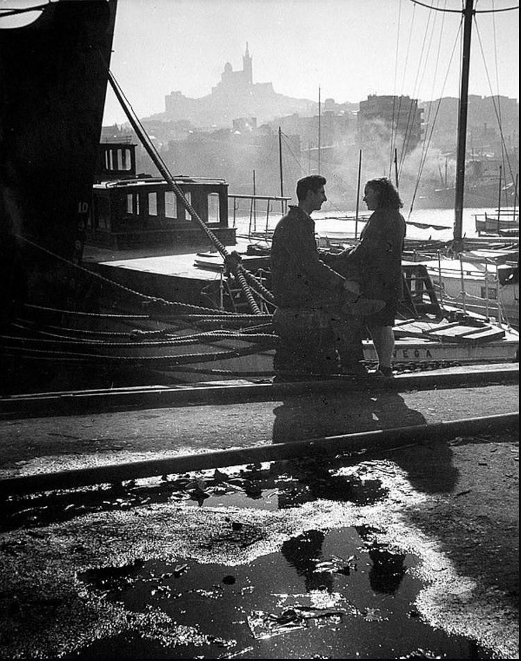 1946. Марсель. Старый порт