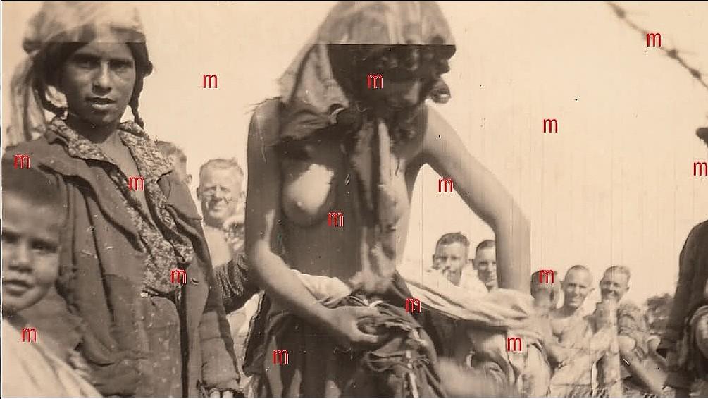 Roma Girls Humiliation WWII 7.jpg