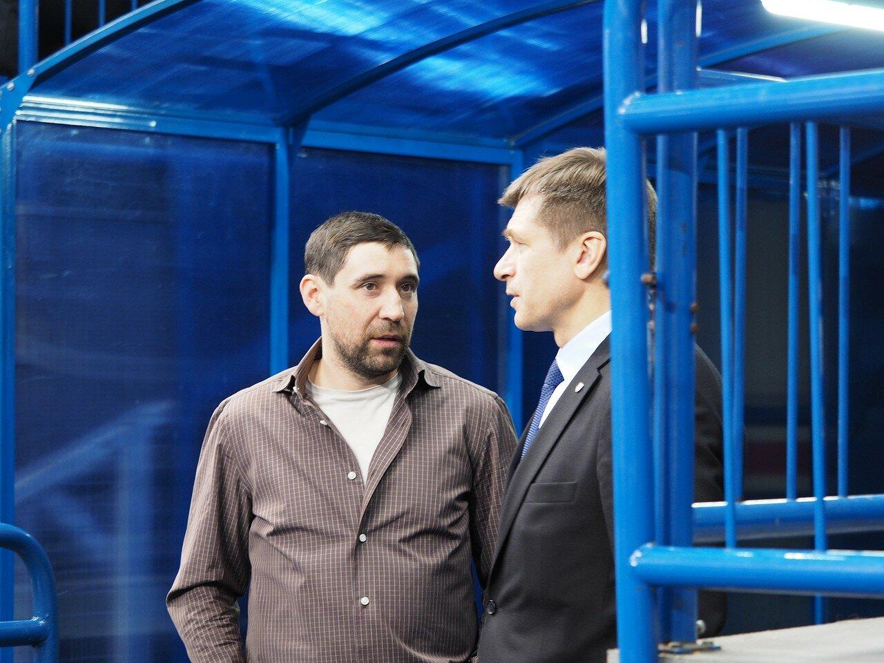 Данис Зарипов и Владимир Антипин