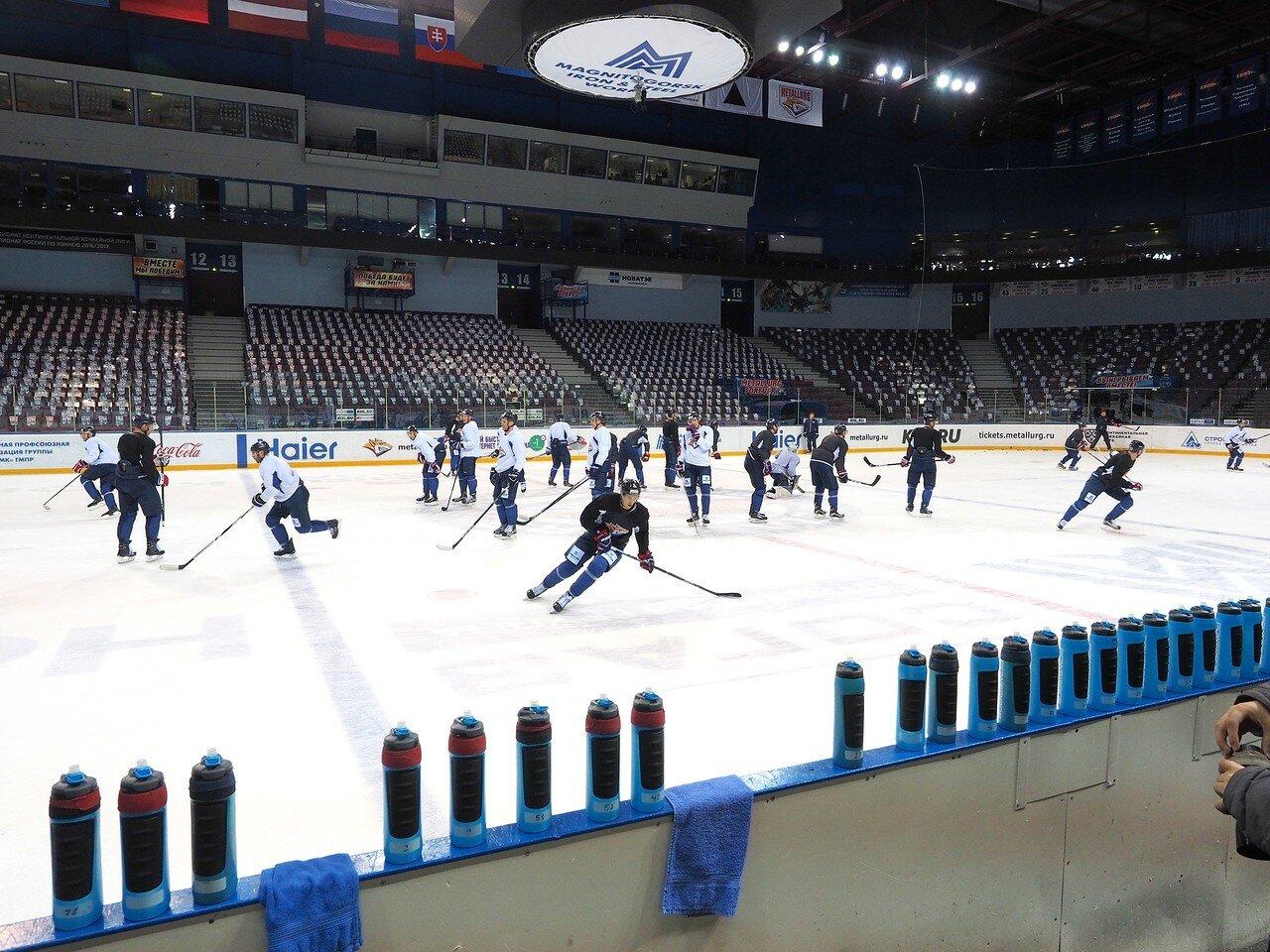 Открытая тренировка перед 1/2 финала плей-офф восточной конференции сезона 2016 - 2017