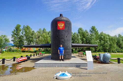 """Памятник подводной лодке К-403 """"Казань"""", Казань"""