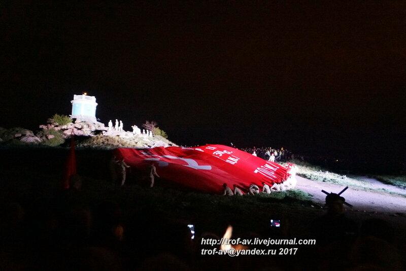 Театрализованный концерт-реконструкция, посвященный Дню Победы на Митридате