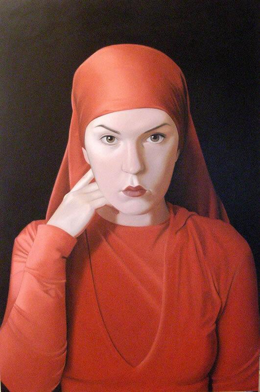 large_10 A Woman in a Red Cloak 91x61.jpg