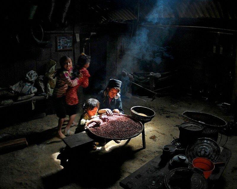 Деревня во Вьетнаме