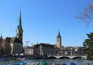 Цюрих - столица   кантона Цюрих