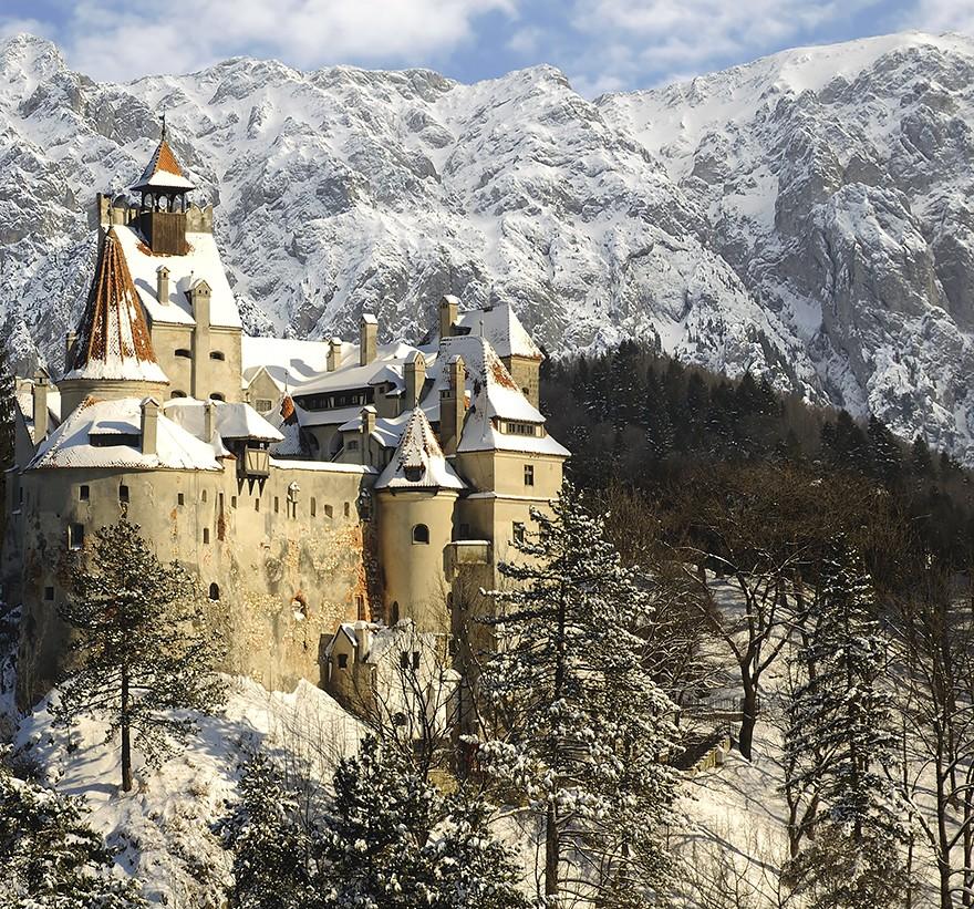 9. Замок Дракулы, Бран.