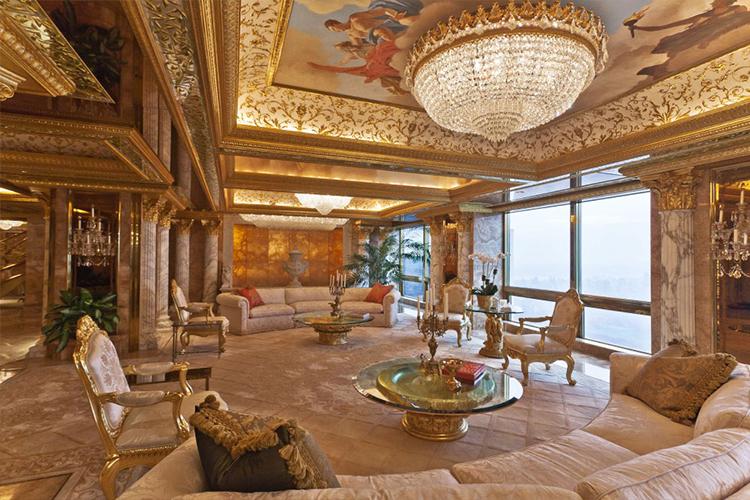 Новый президент США любит золото. Действительно очень любит золото.