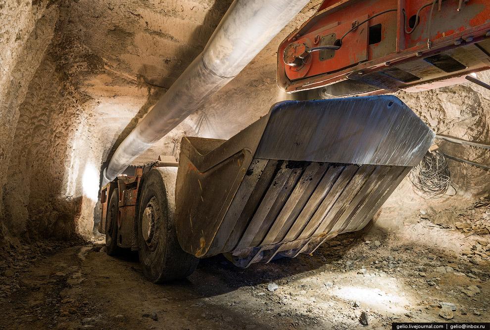За сутки на «Интере» добывается 1500 тонн руды. Объем добычи алмазов в 2013 году составил более