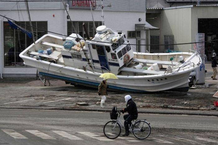 Корабли в городе