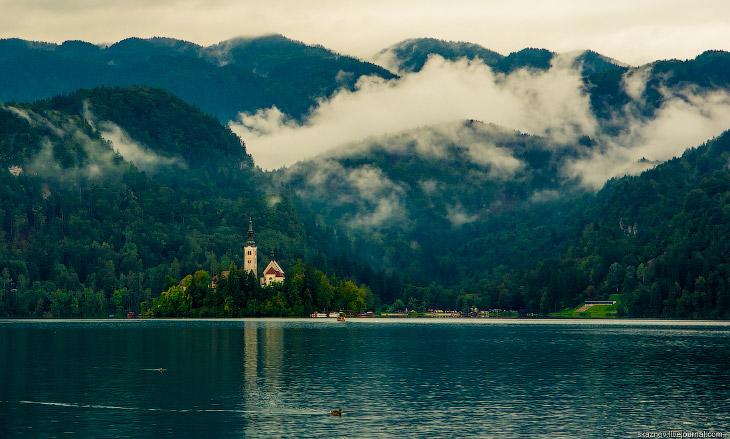 Озеро Блед в Словениии (39 фото)