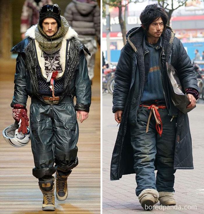 Модель с подиума или бездомный?