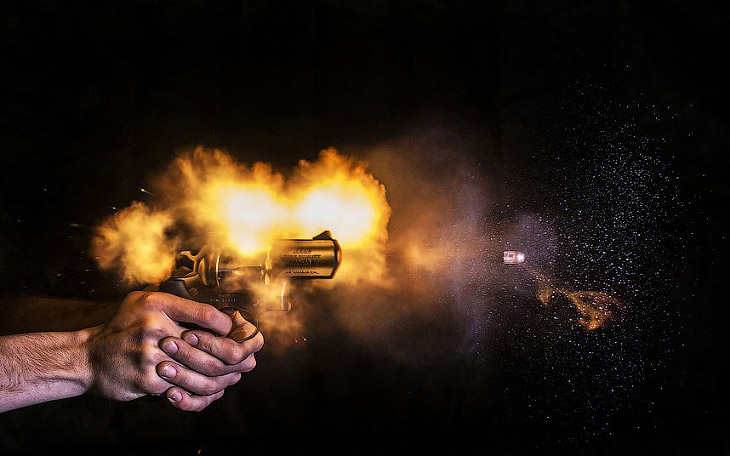 Этот сложный вид оружия — на самом деле измененный австрийский пистолет Глок: