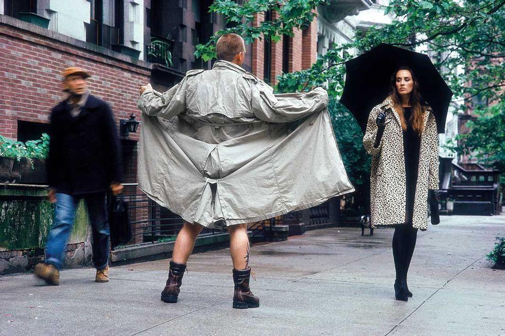 Нью-Йорк, 1989 год. Модная фотосессия.