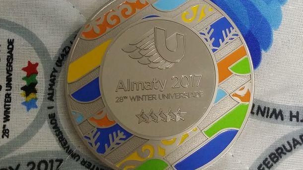 Украинцы выиграли еще две медали наУниверсиаде