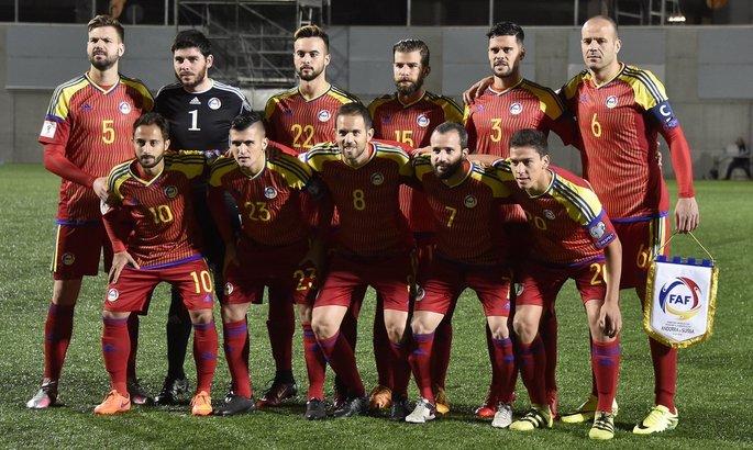 Футбольная сборная Андорры впервый раз с2005 года непроиграла