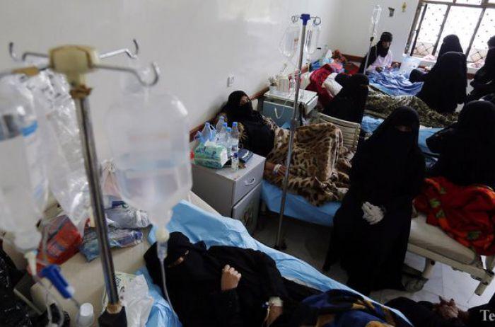 ВОЗ сказала  о242 жертвах вспышки холеры вЙемене