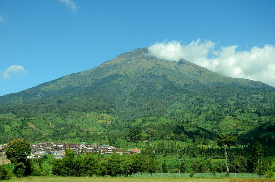 Вулкан на Яве