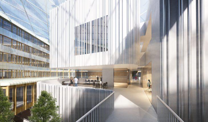 New Town Hall in Uppsala, Sweden by Henning Larsen Architects