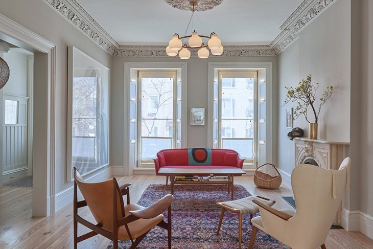 19th Century Apartment in Brooklyn Renovated by Louis Mackall