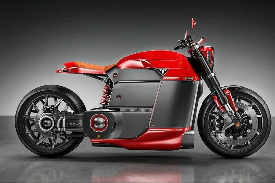 The New Tesla Model M Concept Bike (3 pics)