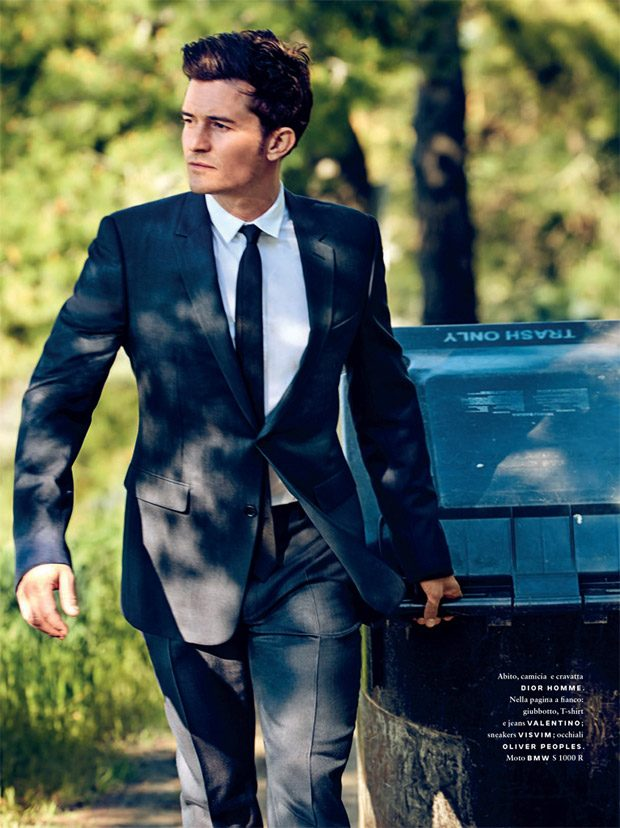 Orlando Bloom is the Cover Boy of GQ Italia May June 2017 Issue