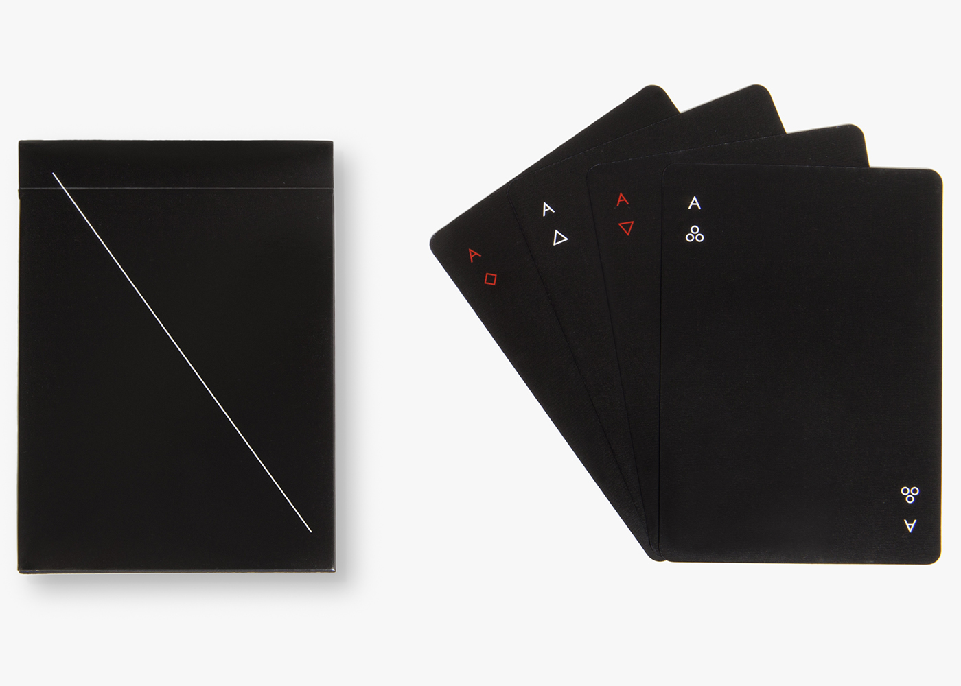 Very Minimalistic Playing Card Deck