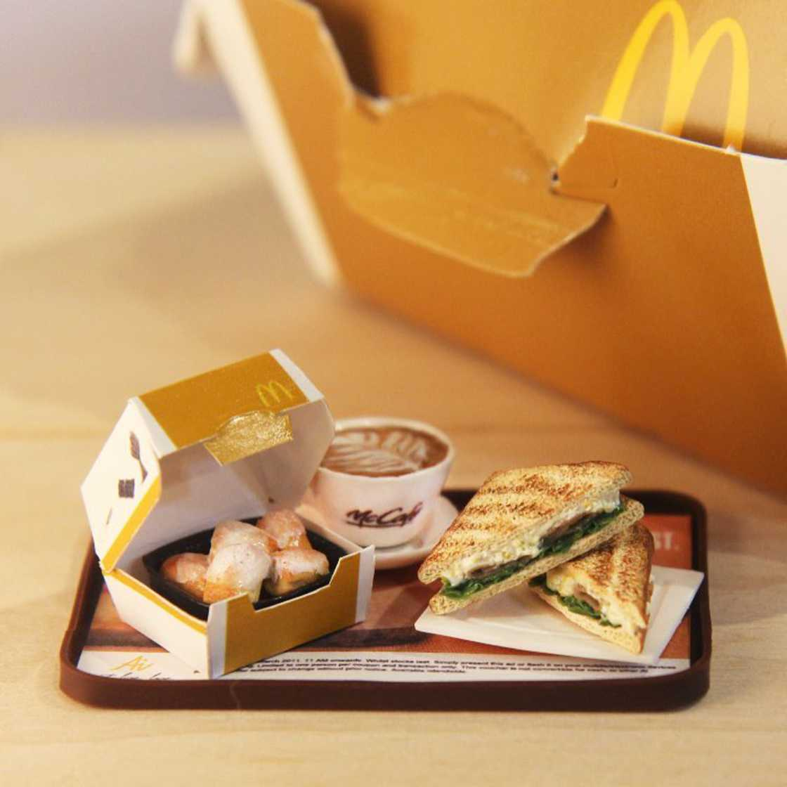 Tiny Food - Appetizing and ultra-realistic miniatures by Jocelyn Teo