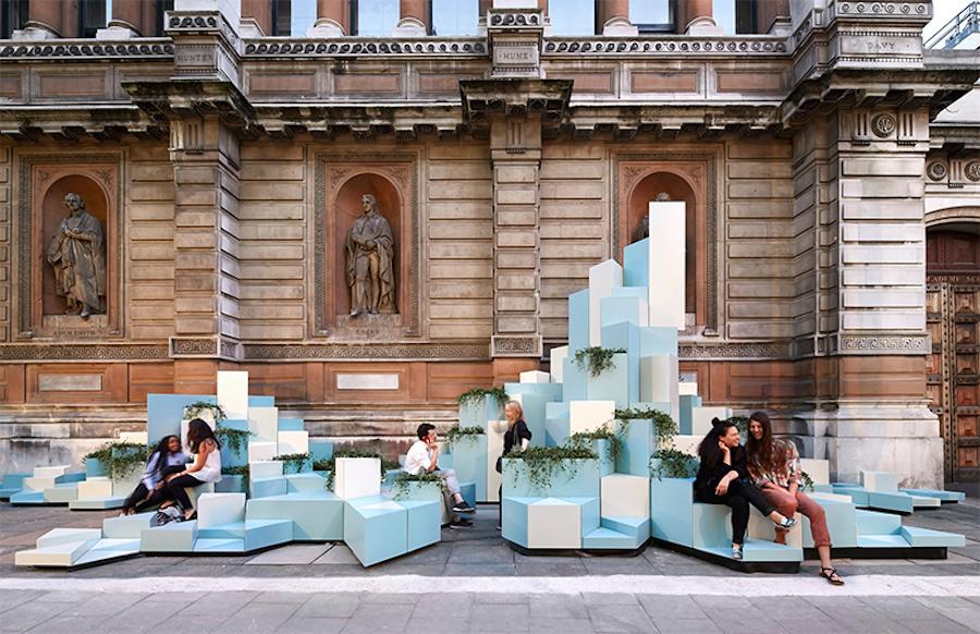 Ceramic Hill Installation in London