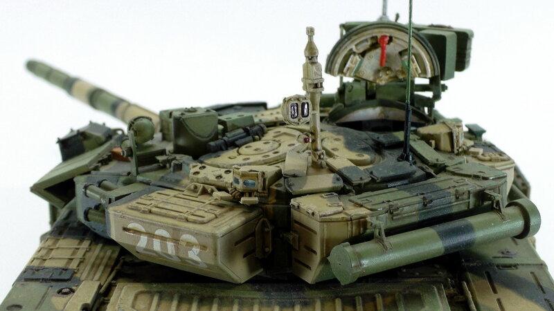 модель т-90а командирский люк