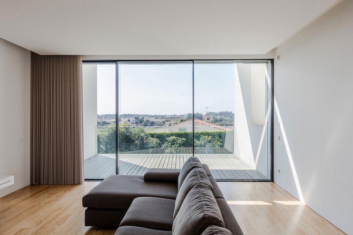 Белоснежная вилла в Португалии