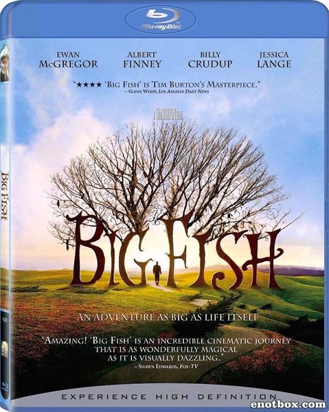 Крупная рыба / Big Fish (2003/BDRip/HDRip)