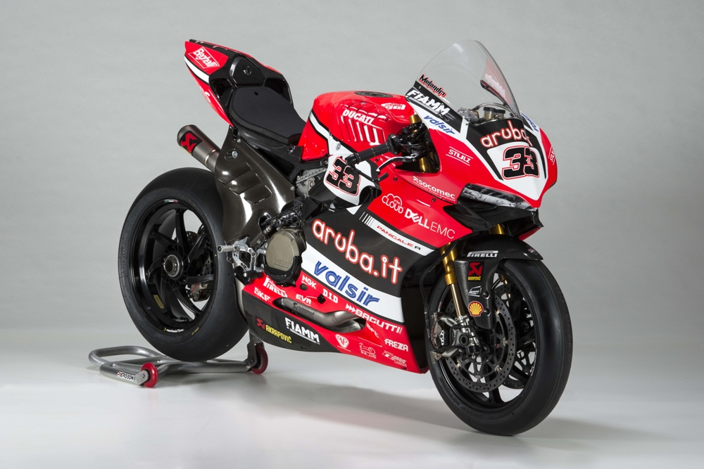 Презентация команды Aruba.it Racing Ducati