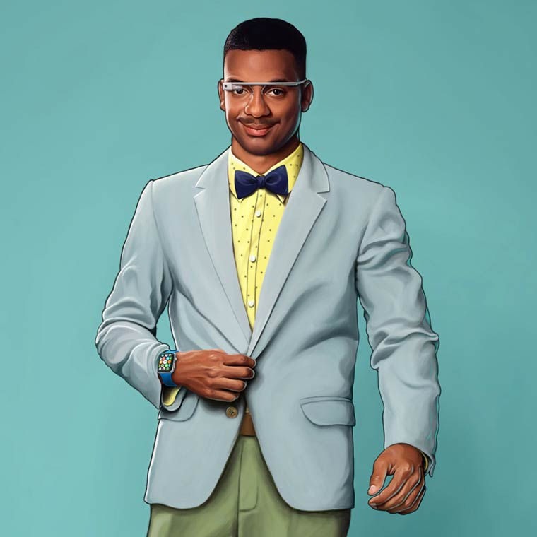 The Fresh Prince of Bel-Air in 2015 - What would look like the characters today