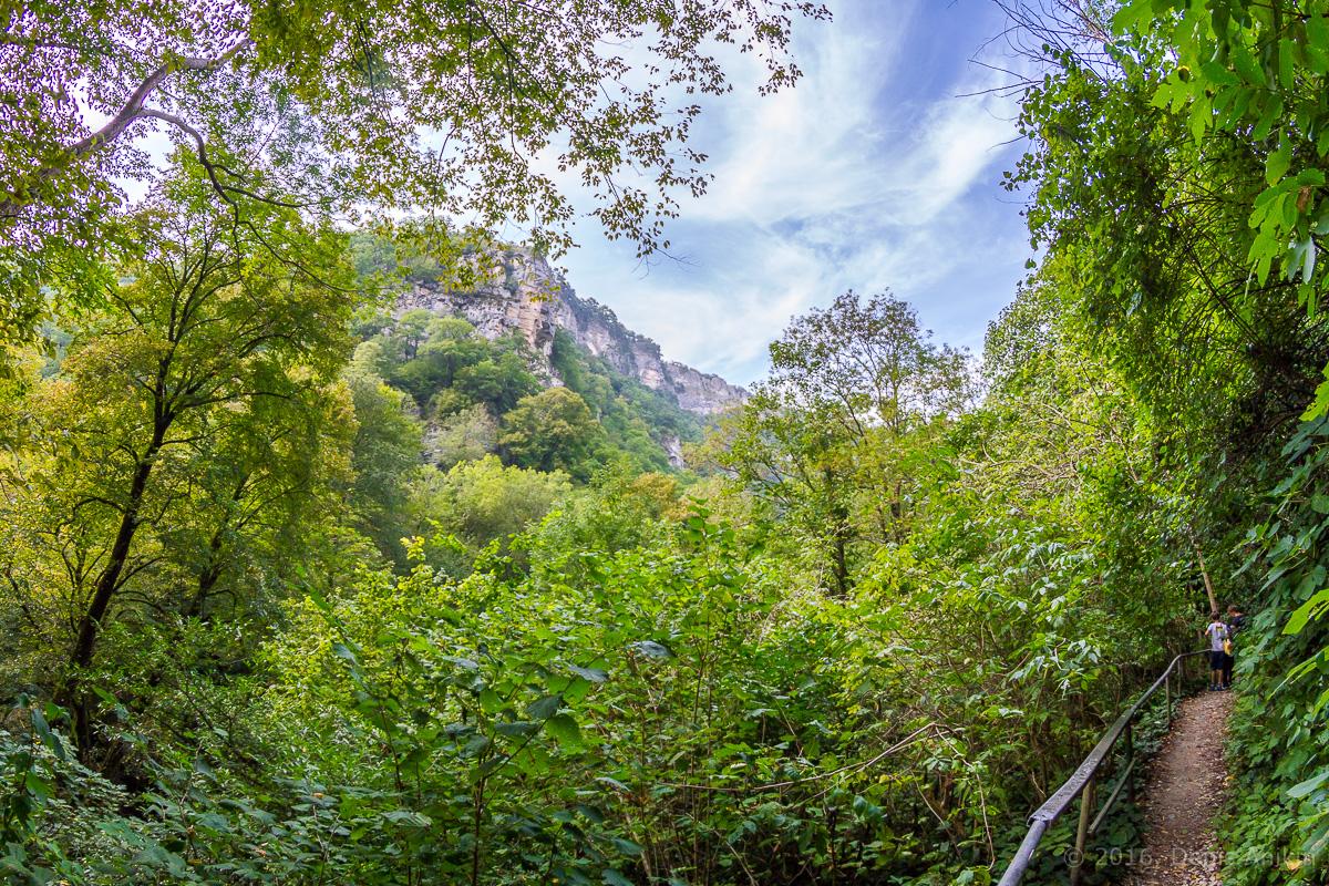 Агурские водопады фото 4