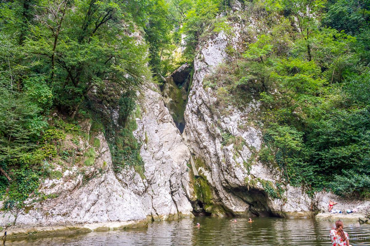 Агурские водопады фото 14