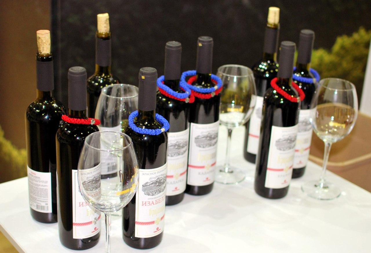 полюбившиеся многим россиянам сорта вин «Брояница», которые в России представляет компания «Мистраль алко».