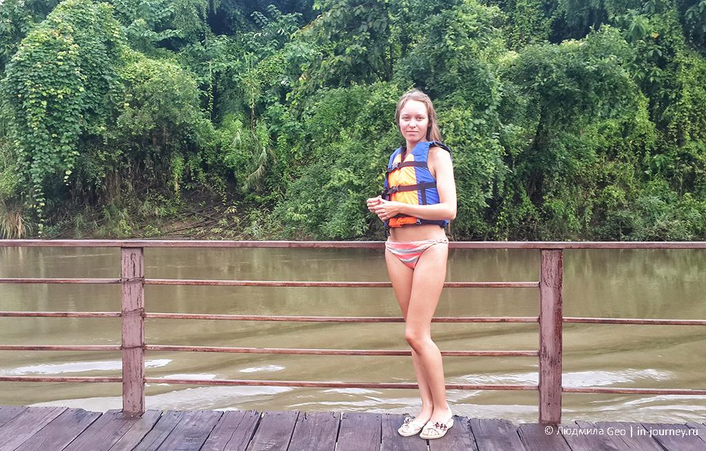 подготовка к сплаву по реке Квай