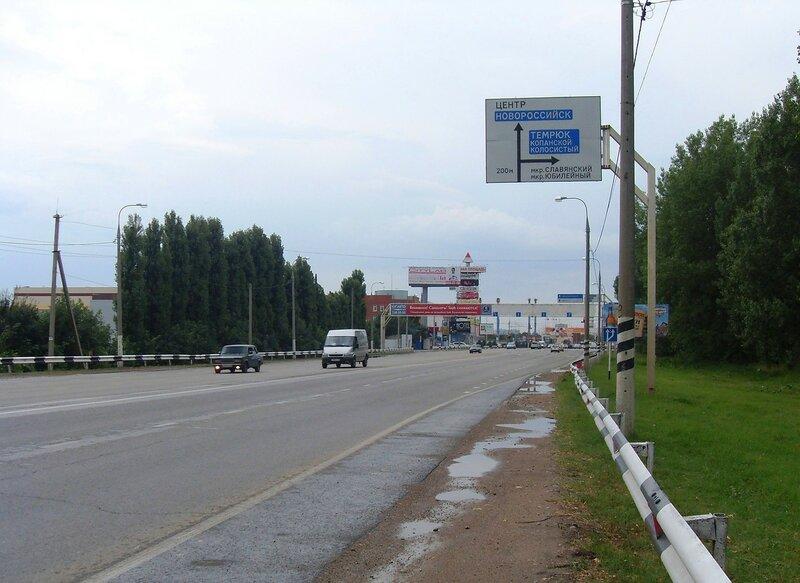 На дороге в центр Краснодара, июль, дождливая погода ...SDC13087.JPG