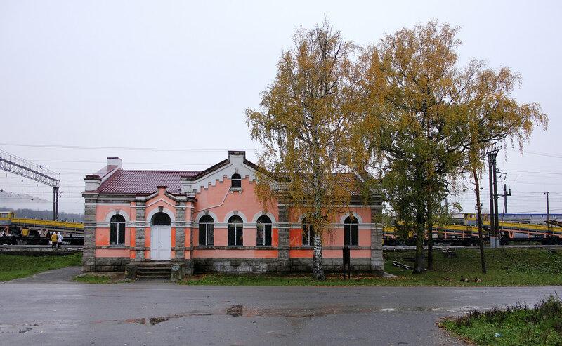 Станция Симская, вид со стороны города