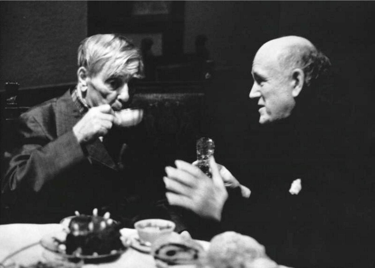 1970. Академик Петр Капица и пианист Святослав Рихтер