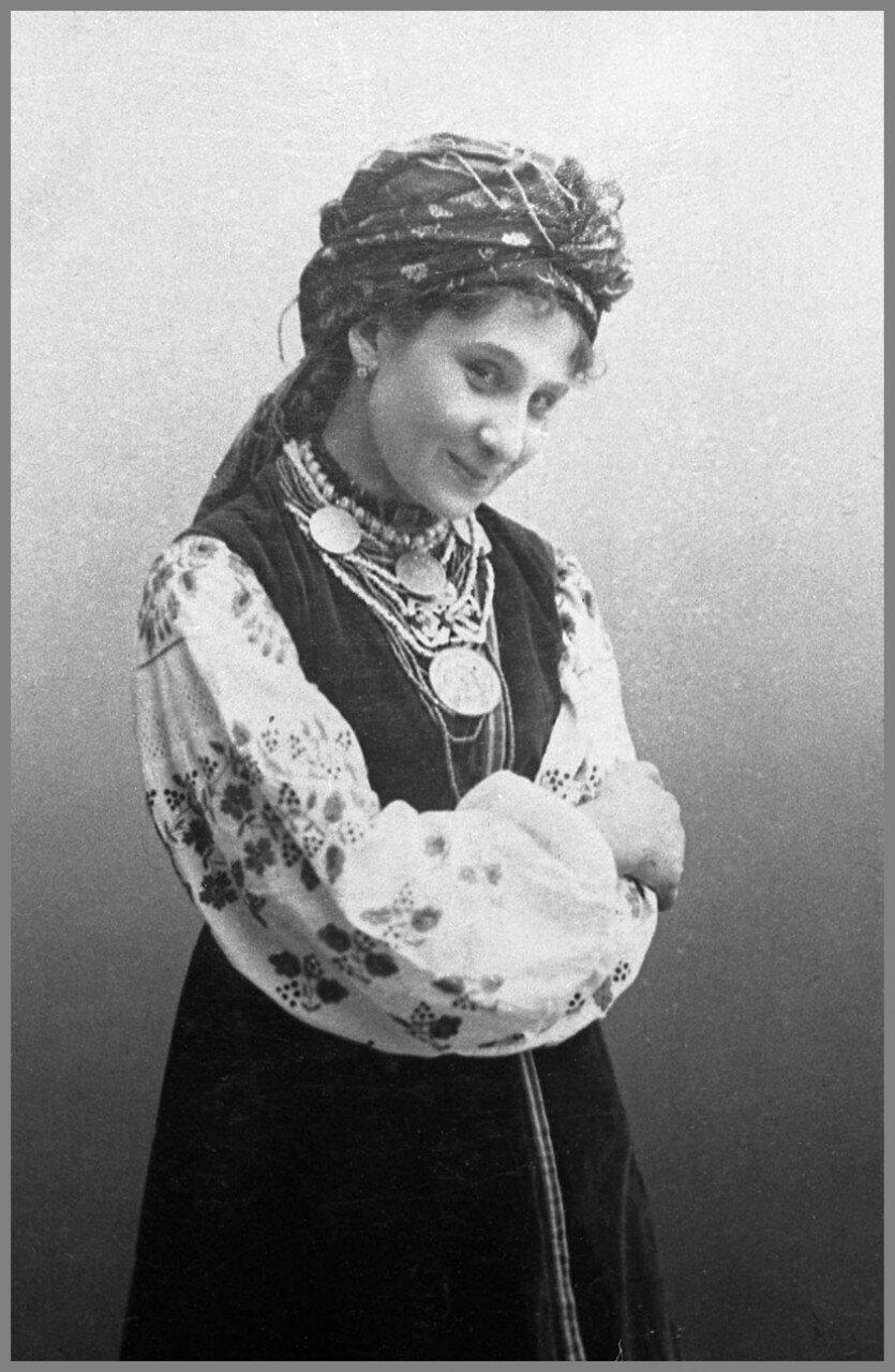 Мария Заньковецкая. Актриса