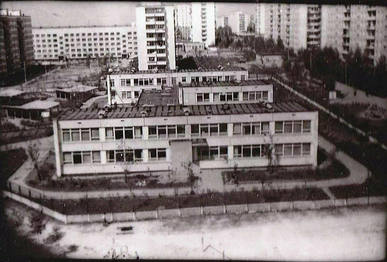 1976. Детский сад треста Мостелефонстрой. 2-ой микрорайон Солнцева