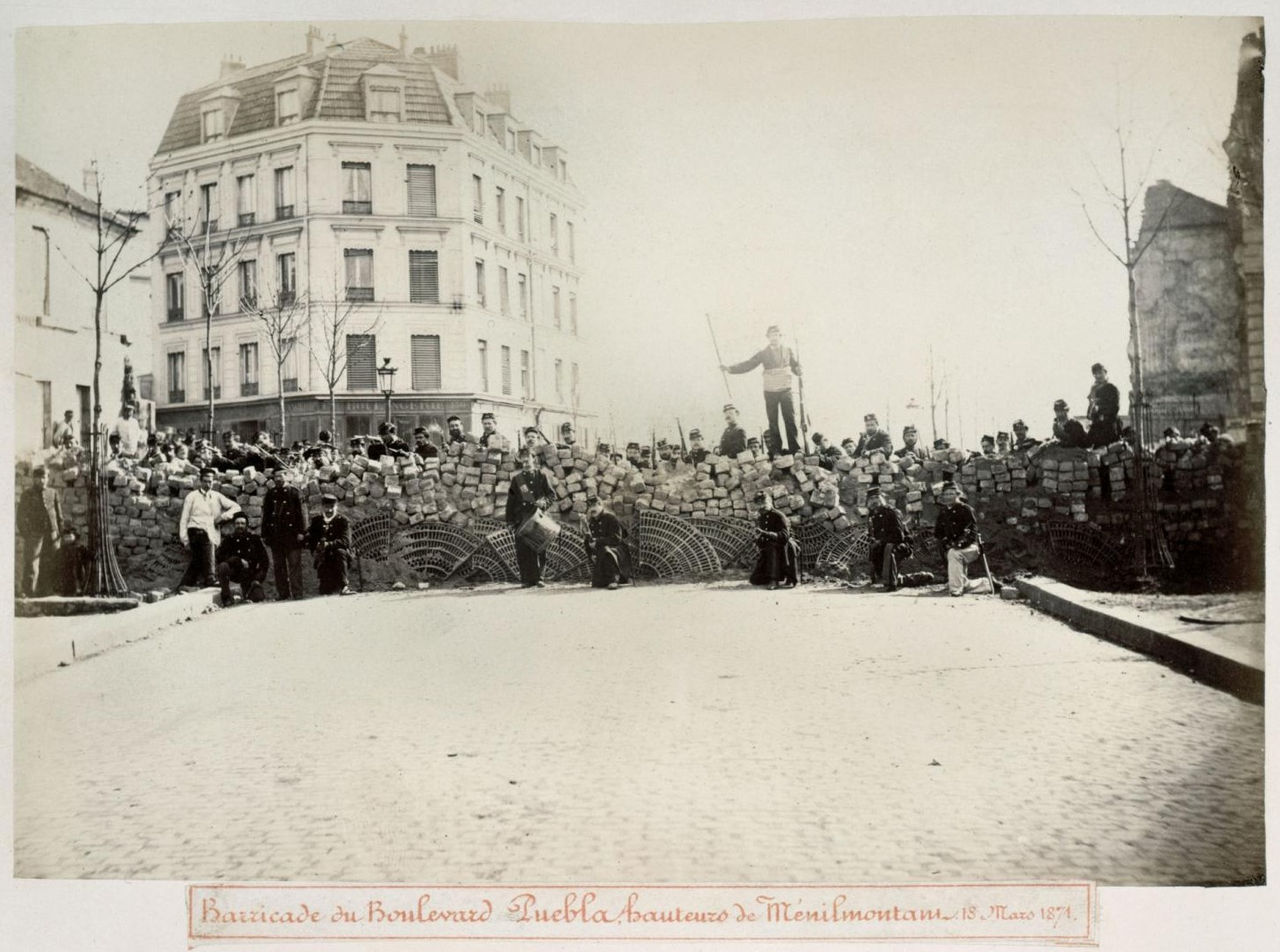 18 марта 1871. Баррикада на бульваре Пуэбла
