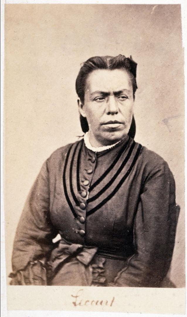 Мари Лекур, погибла на баррикаде на Рю Руаяль