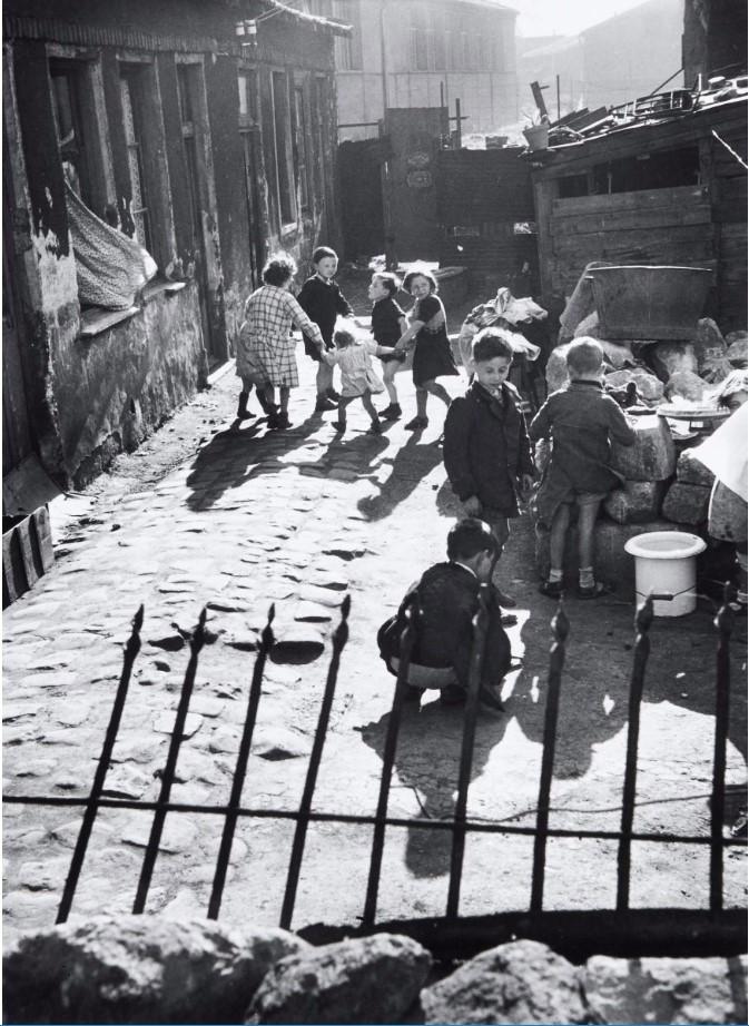 1950. Блошиный рынок. Обервилье. Париж