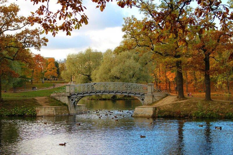 Осень в Гатчинском парке